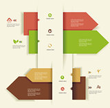Modern Design template.Use for infographics,numbered banners,web
