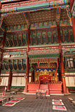 Royal Throne Room In Korea