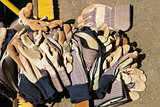 Pile of Work Gloves