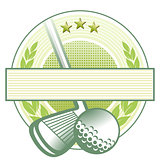 golf club emblem