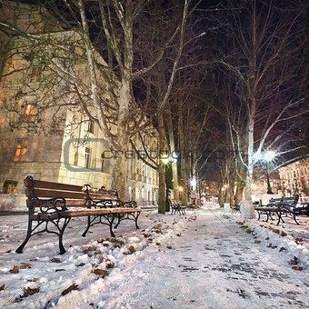 Deserted Night City
