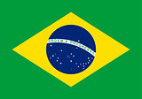 Flag of Brazil.