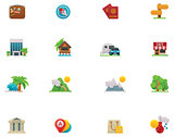 Vector travel icon set