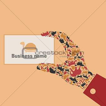 Animal a hand
