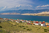 Island of Pag bay seascapes