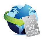 international global Backstage pass vip