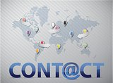 world social network contact us