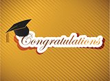 graduation - Congratulations lettering