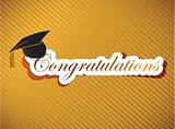 graduation - Congratulations lettering