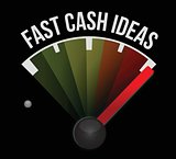 fast cash idea speedometer