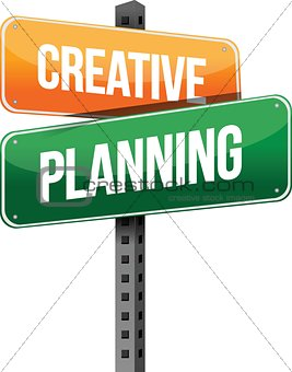 creative planning sign