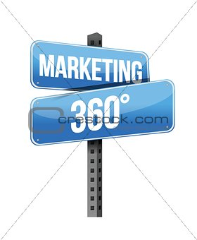 marketing 360 sign