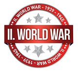 world war two red seal stamp