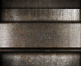layered metal background