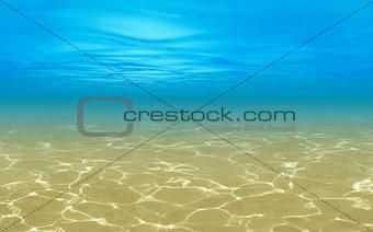 sea shallow underwater background