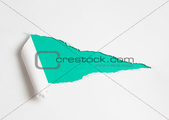 Torn paper hole as  background for your text