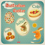 Easter Australian Card