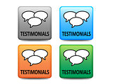 Testimonial buttons