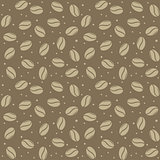 seamless coffee seed texture