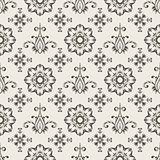 Vector Seamless  Floral Wallpaper Pattern