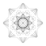 Star shape tile