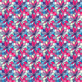 Seamless Pattern with Abstract Colorful Texture