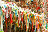 "The ""Gum Wall"" in Seattle, WA"