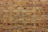 background texture from dry woven bamboo wood color