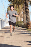 Man running