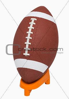 Football on tee