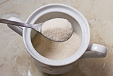 teaspoon with sugar