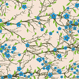 Seamless tree pattern.