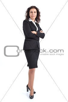 Beautiful mature businesswoman smiling