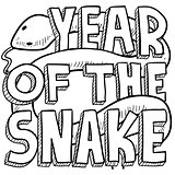 Year of the Snake sketch