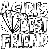 Diamonds are a girl&#39;s best friend