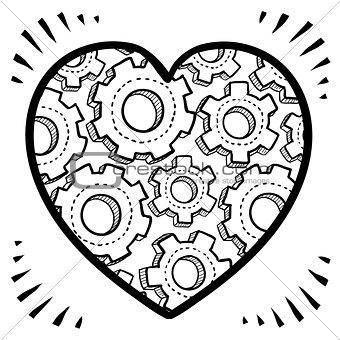 Romantic complexity sketch