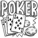 Poker sketch