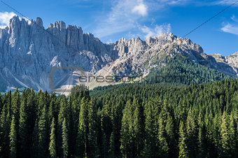 Mountain Latemar, Dolomiti