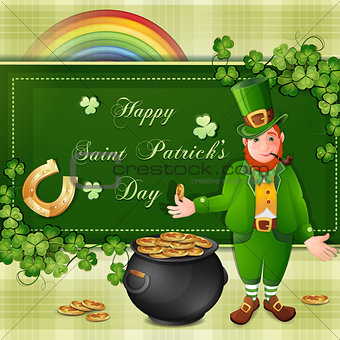 Saint Patrick Day's card
