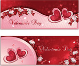 Valentine&#39;s day banners