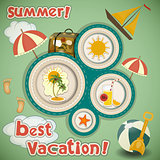 Summer Vacation Travel Card