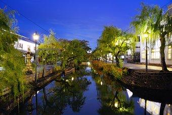 Kurashiki, Japan Canal