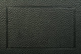 Old vintage black leather background