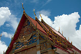 Gable Roof, Temple, Thailand