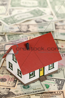 Symbolic picture for financing a real estate