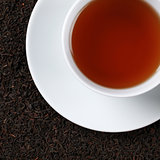 Black Tea from above