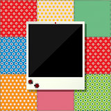 Digital scrapbooking photo frame