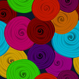 Paper flower seamless