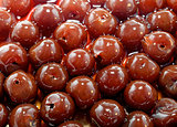 Background of Organic Cherries