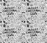 seamless xmas pattern